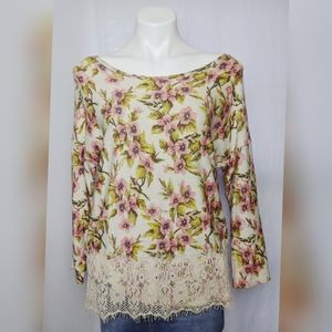 Disney Lauren Conrad Sleeping Beauty Floral Top